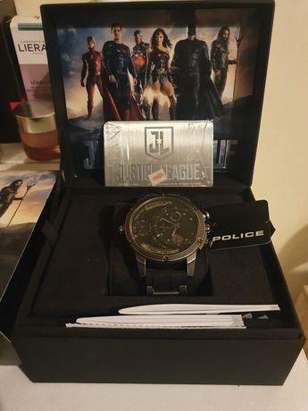 Relógio police justice league c/garantia