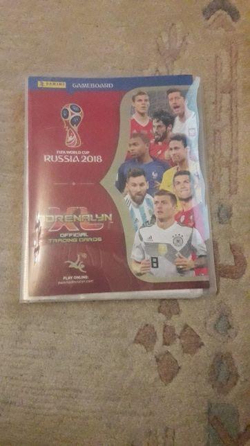 Панини на карточки Россия 2018 футбол