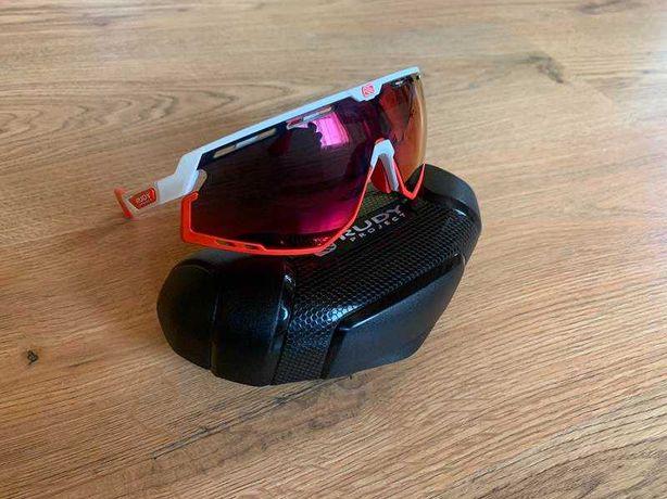 Okulary RUDY PROJECT Defender Multilaser  biały czerwony