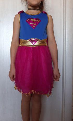 Супермен (девочка) карнавальный маскарадный костюм
