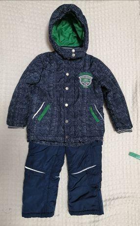 Зимний раздельный комбинезон Kanz, зимняя куртка и штаны