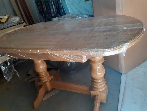 стіл дубовий розкладний