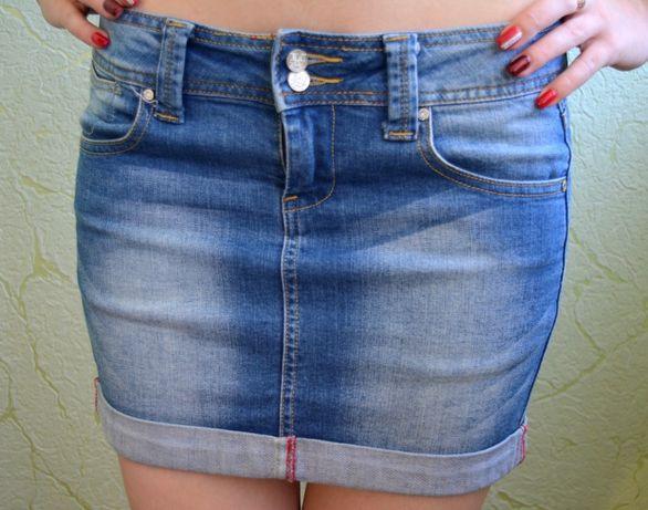 Джинсовая женская юбка oodji 500 руб.