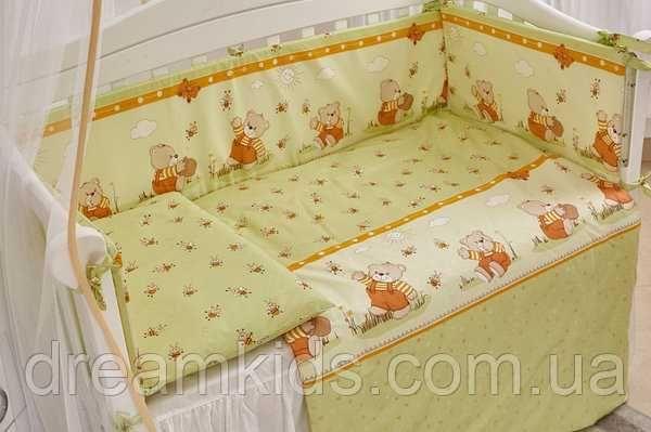 Постелька в детскую кроватку