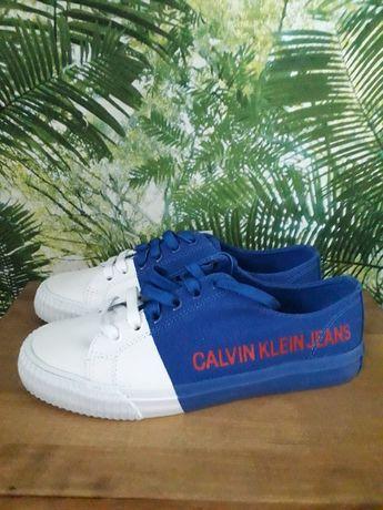 Nowe oryginalne trampki Calvin Klein roz 37