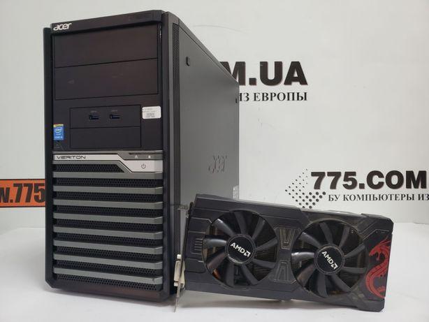 Игровой компьютер, Intel 3.5GHz, 8GB RAM, 120GB SSD, RX 470 4GB