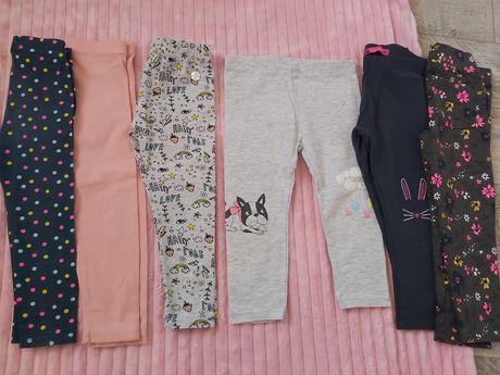 Leginsy, spodnie 86-92