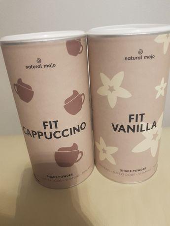 Koktajl. Shake Natural Mojo Fit Cappuccino i  Vanilla