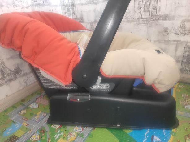Автокресло люлька переноска 0-13 кг peg perego