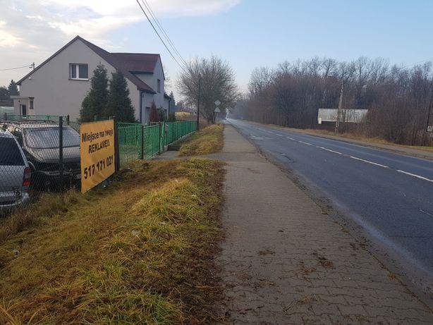 Reklama Miejsce na reklamę banner na ogrodzeniu ul. Katowicka Jaworzno