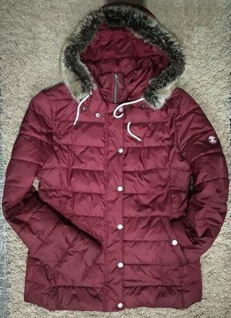 Курточка пуховик barbour женское стеганое Англия легкое пальто