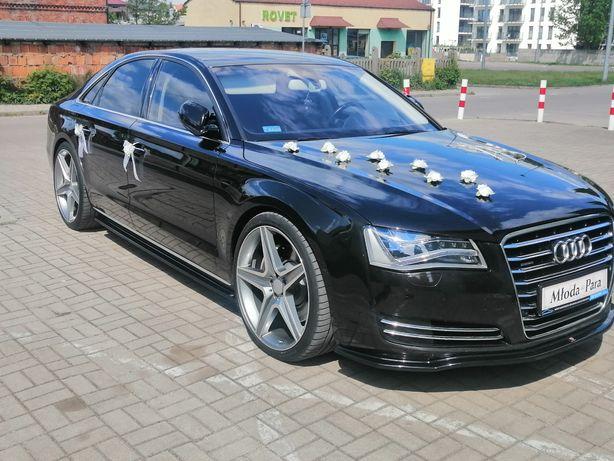Auto do ślubu Audi a8