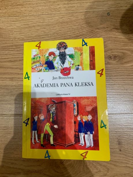 "Książka ""Akademia Pana Kleksa"""