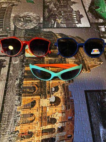 Распродажа Очки детские солнцезащитные с гибкой оправой