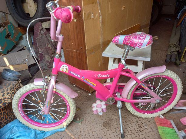 Велосипед дитячий барбі