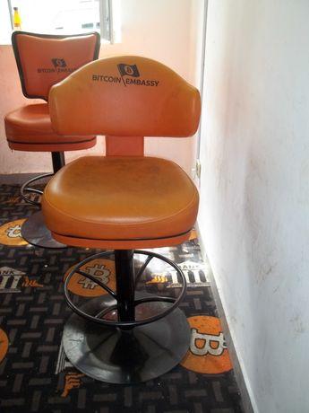 Masywny fotel używany