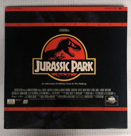 """Film 12"""" laserdiac JURRASIC PARK"""
