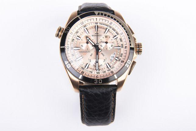 Nowy Zegarek Bisset BSCC54 męski z chronografem