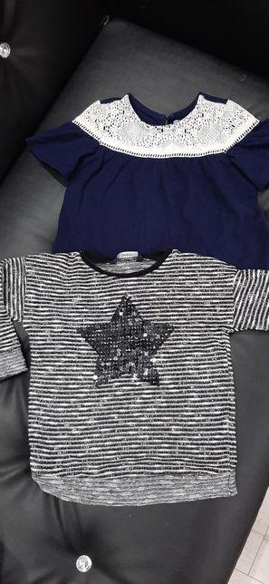 Sweterek bluzka dziewczynka 3 4 lata