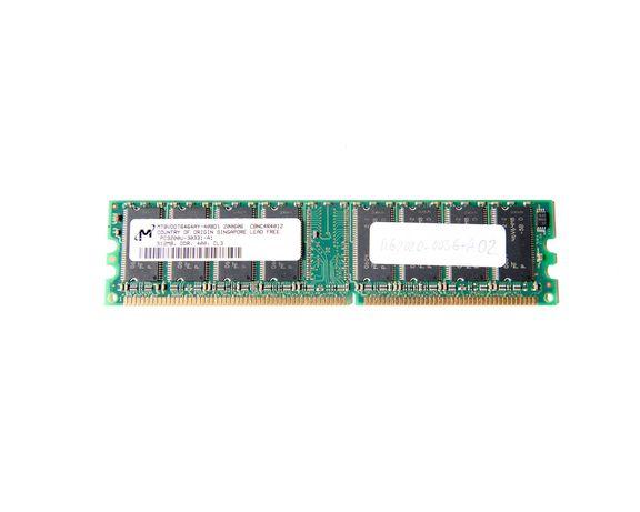Memória Ram DIMM Micron 512Mb DDR400Mhz MT8VDDT6464AY-40BD1