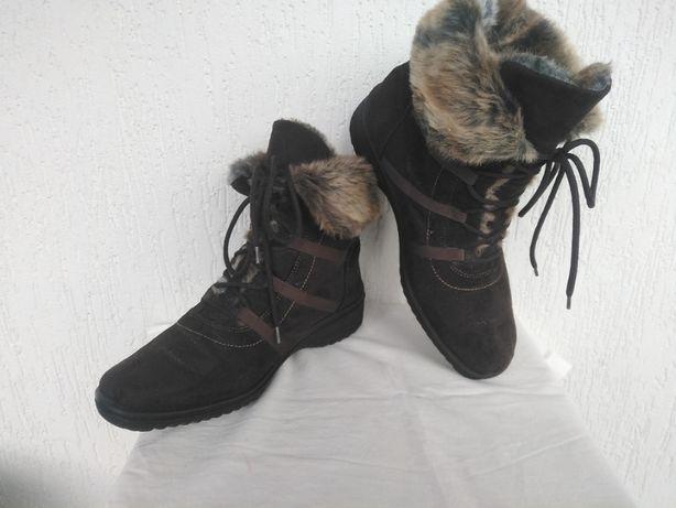 Ботинки,сапожки замшевие Ara Gore-tex р.37