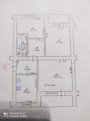 Продам квартиру 3 комнатную