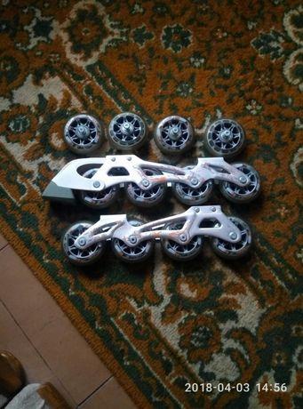 Рамы с колесами для роликов