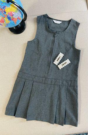 Демисезонная шапочка Платье Сарафан на 4-5 лет