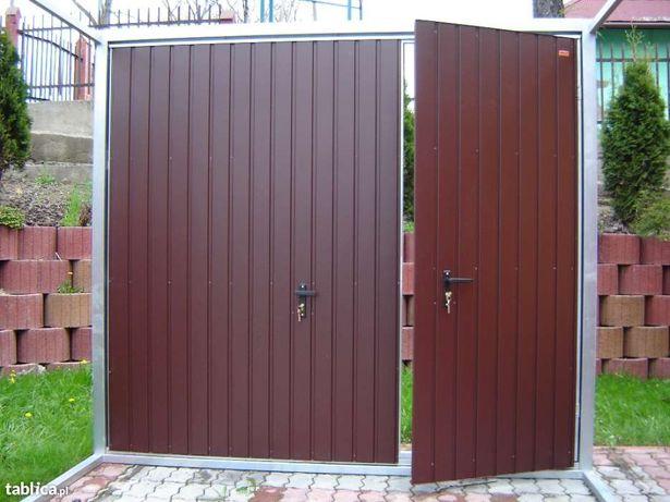 Bramy garażowe uchylne dwuskrzydłowe brama garażowa wyprzedaż na wymia