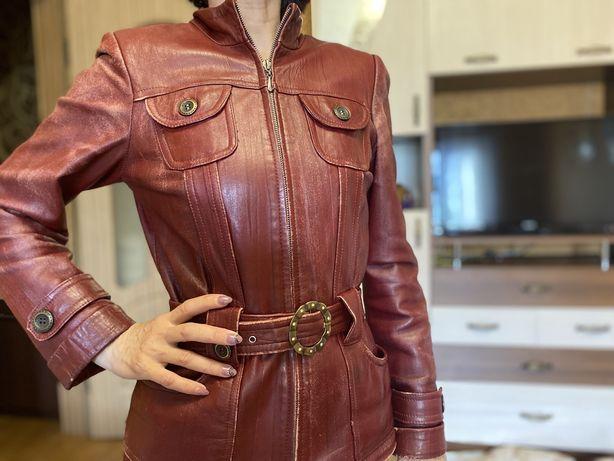 Косуха куртка кожаная натуральная кожа