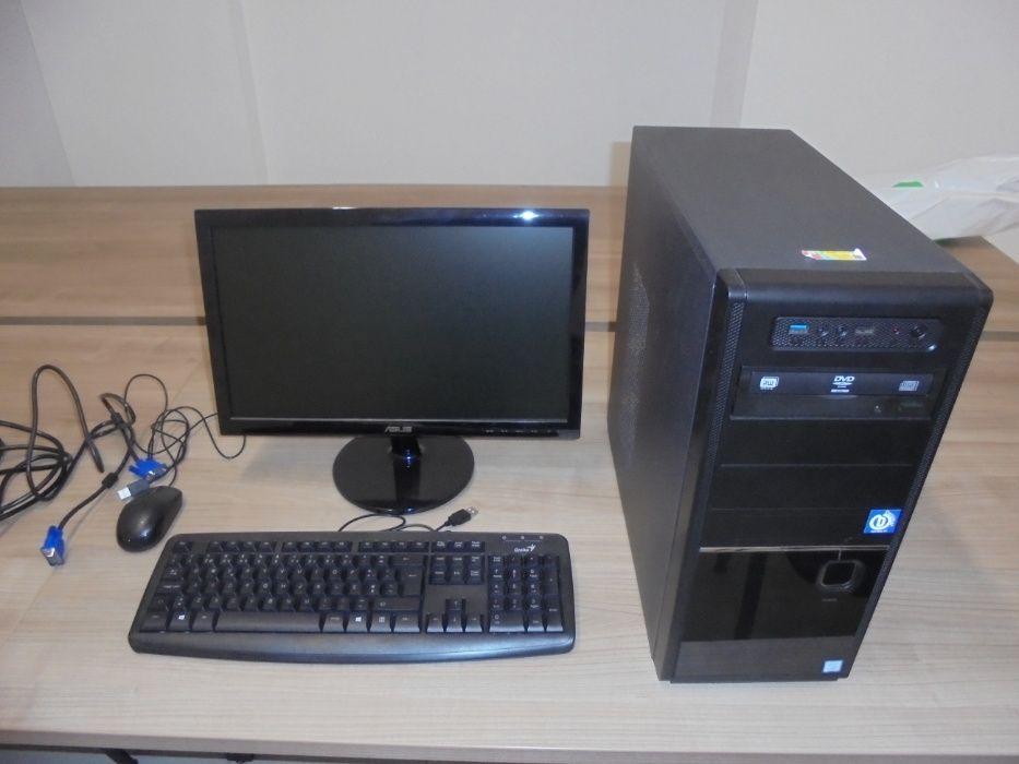 Computador I3 + Monitor, Rato e Teclado