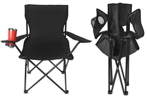 Кресло для рыбалки Крісло для відпочинку чорне Стілець Стул Стульчик