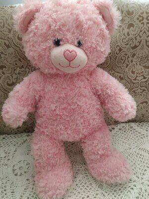 Розовый новый мишка для девочек
