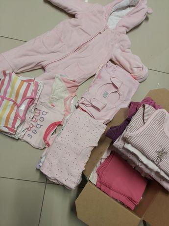 Ubrania 56-68 dla Dziewczynki PAKA