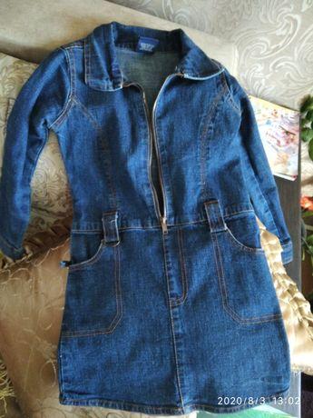 Сарафан,джинсове плаття.
