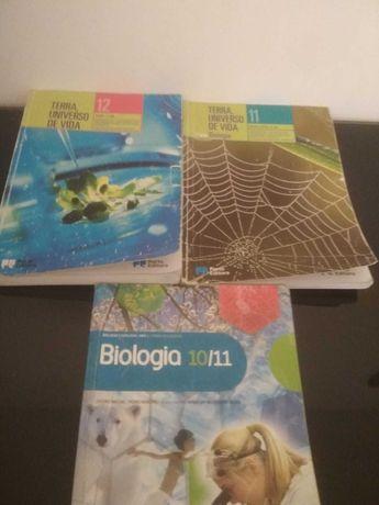 Manuais escolares - Biologia 10º/12º