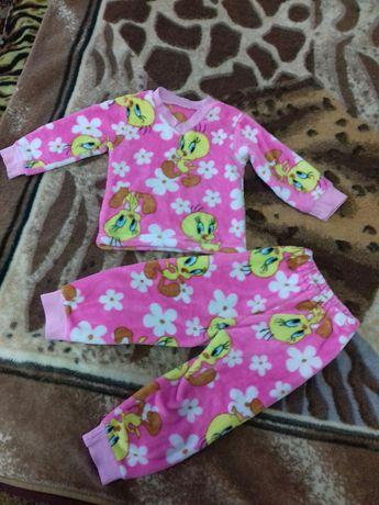 Пижама тёплая детская
