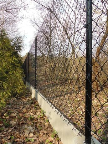 Siatka ogrodzeniowa zielona PCV rolka (10 mb)