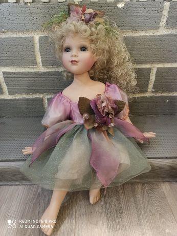 Редкая куколка Alberon Фарфоровая фея, коллекционная
