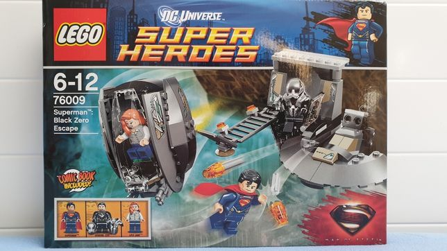 LEGO 76009 Superman Black Zero Escape