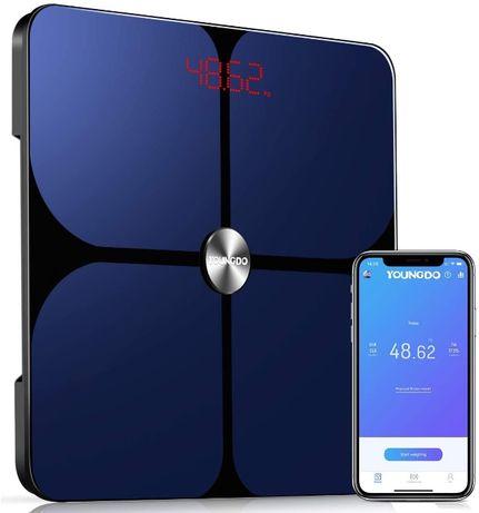 Smart Body Fat Scale, беспроводные цифровые весы для ванной комнаты YO