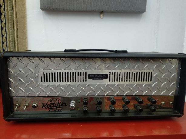 Mesa Boogie dual rectifier solo head marshall vox fender