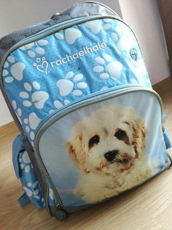 Rachaelhale® plecak szkolny dziewczęcy piesek