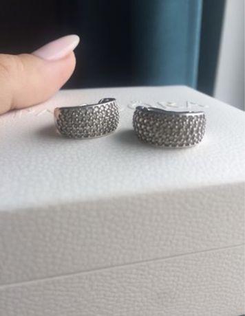 Продам комплект pandora серьги и кольцо 925ale