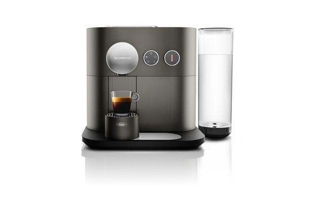 Ekspres kapsułkowy Nespresso DeLonghi Expert antracyt NOWY+64 kapsułki