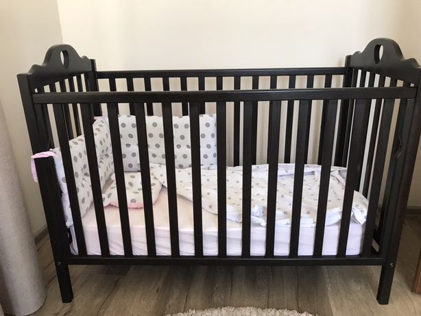Дитяче ліжечко кроватка детская