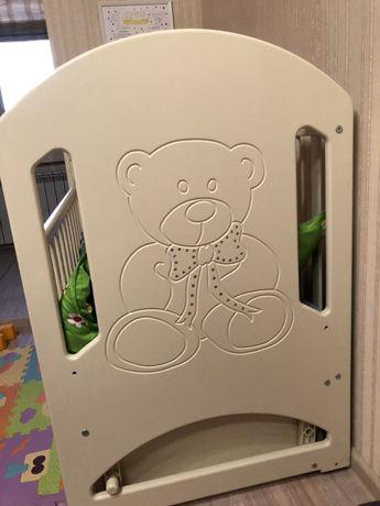 Кровать детская Veres Соня ЛД8 / детская кроватка