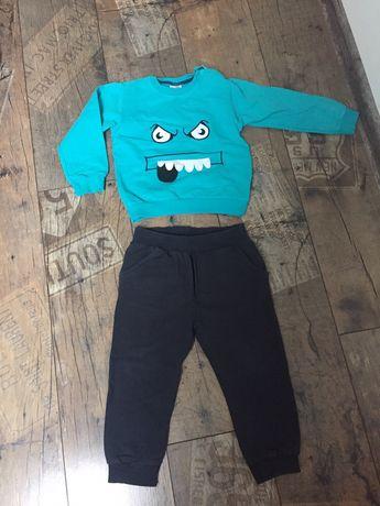 Dres spodnie bluza rozmiar 98