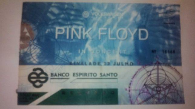 Bilhete Pink Floyd 1994