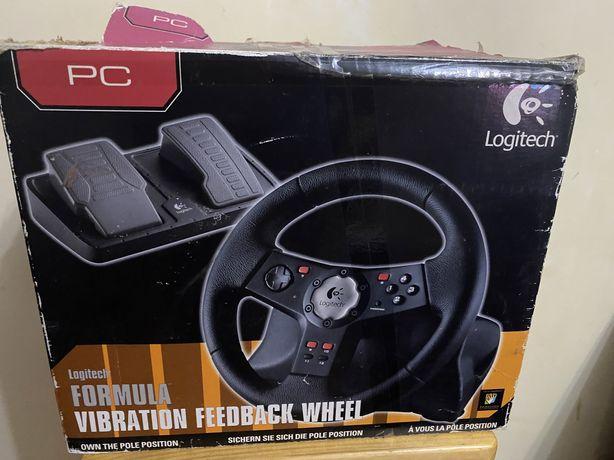 Logitech - Руль з педалями для ігор на ПК